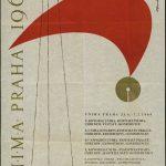 Affiche du congrès de Prague (République Tchèque), 1969