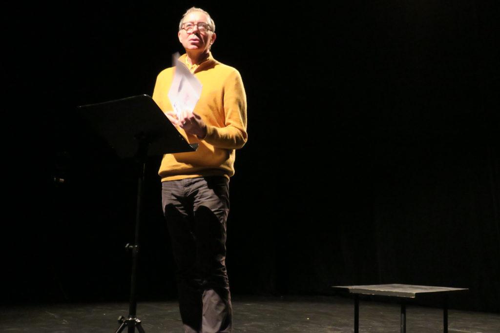 Eloi Recoing, director del Institut Internationale de la Marionnette.