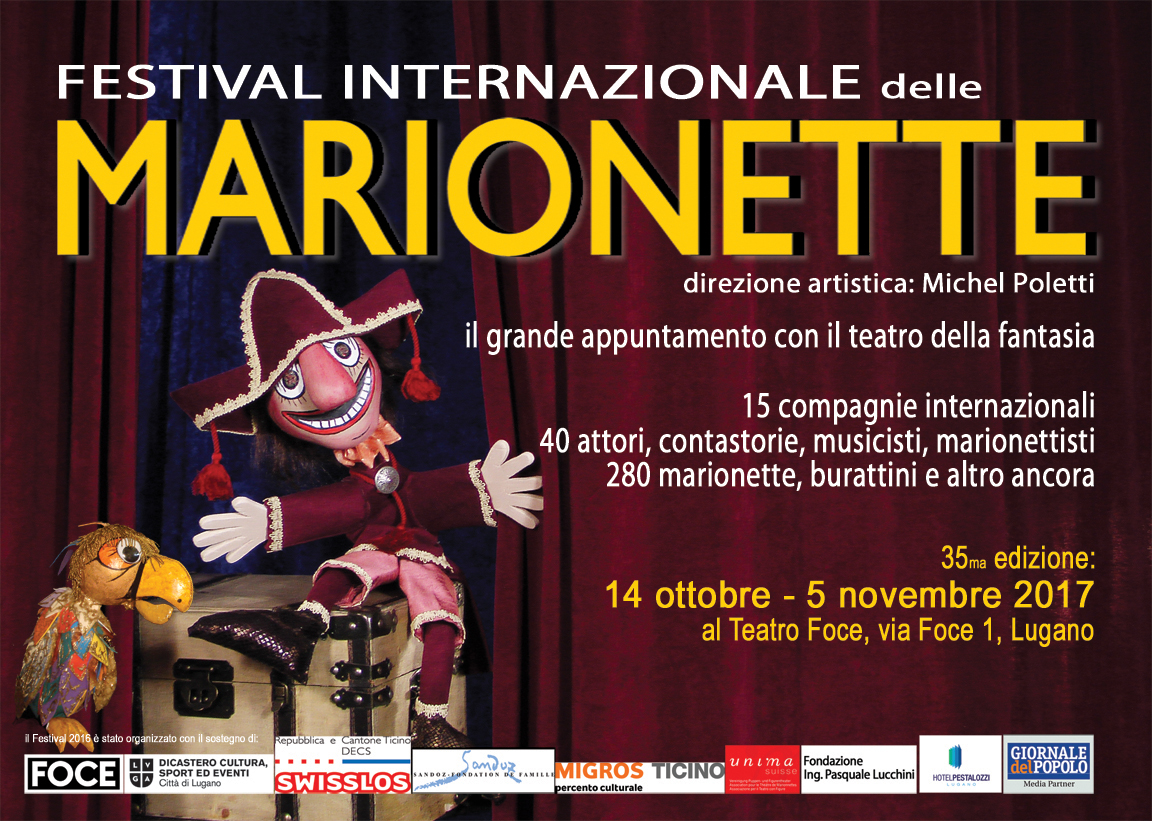 35th International Puppets Festival, Lugano
