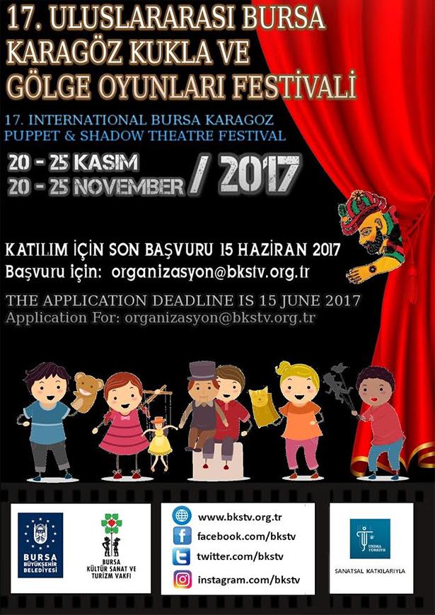 17th International Bursa Karagöz Puppet & Shadow Theatre Festival