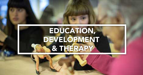 Presentation of the Education, Development and Therapy Commission