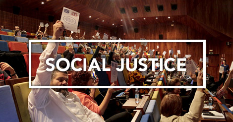 Presentation of the Social Justice Commission