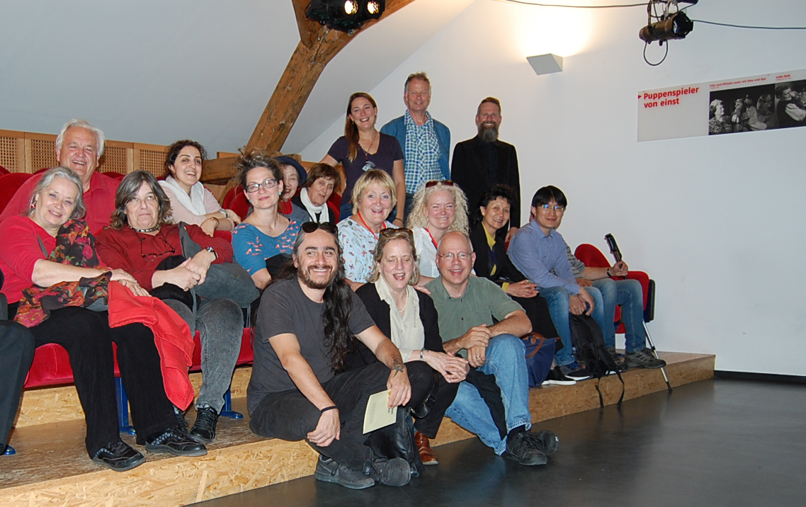 The UNIMA Council Group at the PuK Museum in Bad Kreuznach.