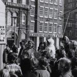 125 jaar Poppenkast op de Dam oude foto