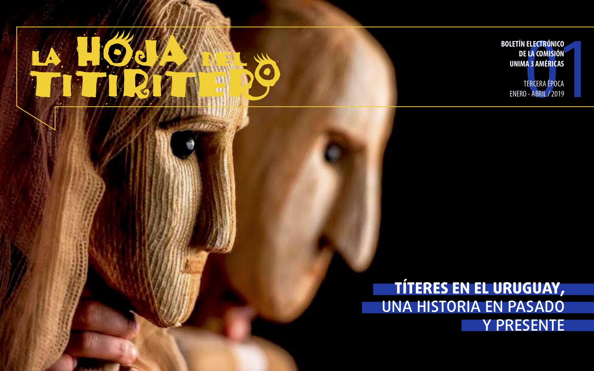 Portada La Hoja del Titiritero num. 7 | 2019