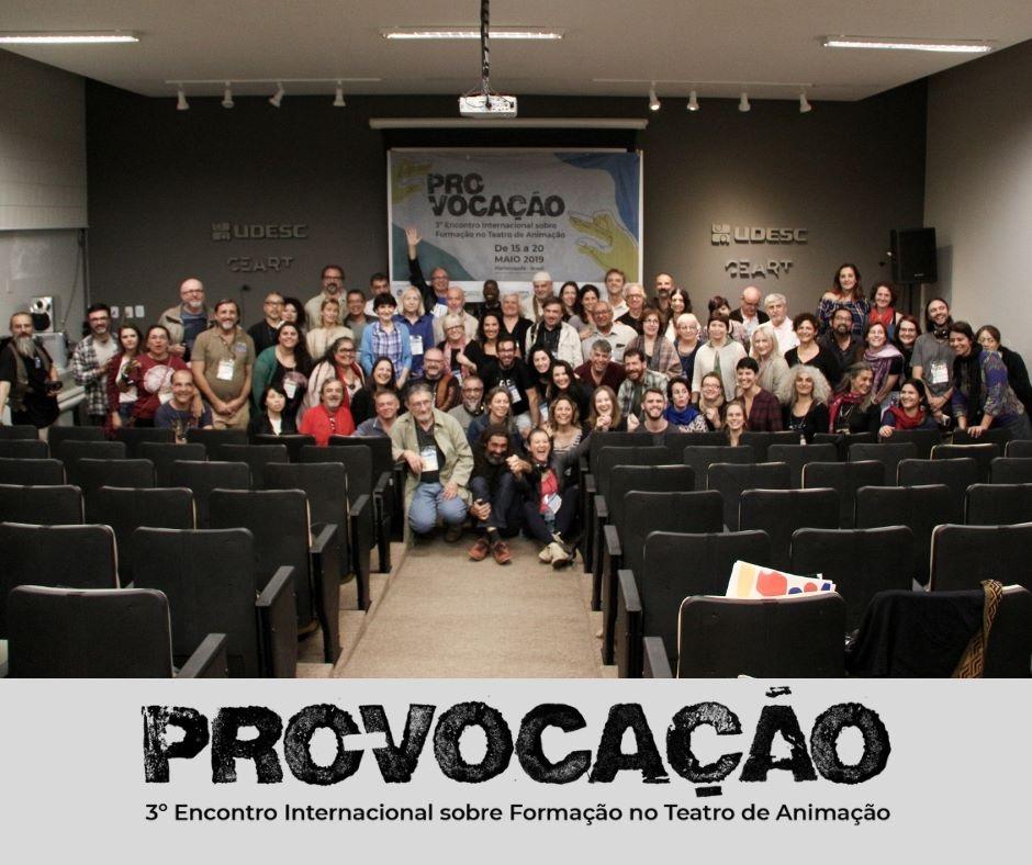 Commission Professional Training Florianapolis Brazil 2019 festival Provacaçao